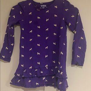 💥10/10-Oshkosh girl purple poodle dress